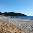 Sandy Beach Landscape In Rural Newfoundland - Stock Photo