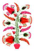 Flowers decorative — Stock Vector