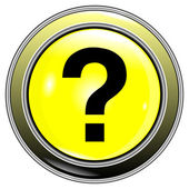 Button question — Stock Vector