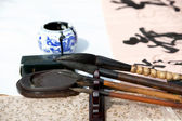 Four Treasures of the Study in China — Stock Photo