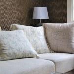 ������, ������: Pillow cushions On Sofa