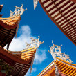 Chinese eaves of temple — Stockfoto #3665043