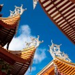 Foto de Stock  : Chinese eaves of temple