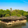 Chinese old style elegant buildings — Stock Photo