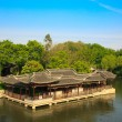 Chinese old style elegant buildings — Stock Photo #3907110
