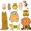 Royalty-Free Stock Vector Image: Animals set
