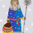 Stockvector : Grandfather Frost