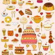 Stock Vector: Sweets