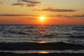 Sun Sea Sunset — Stock Photo