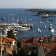 Stock Photo: Hvar bay and islands