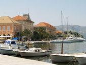 Adriatic bay view — Stock Photo