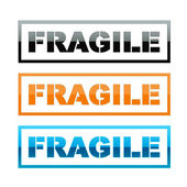 Fragile sign — Stock Photo