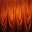 Red curtain — Stock Photo #2833148