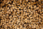 Estrutura de madeira de bétula seca fogo — Fotografia Stock