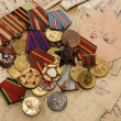Medals and letters — Stock Photo #2759386