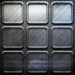 Metal template background — Stock Photo #2737852