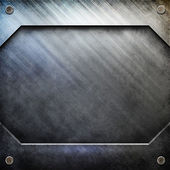Metal template background — Foto Stock