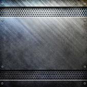 Серебряная металлическая структура — Стоковое фото