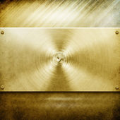 Metal template background (golden pack) — ストック写真