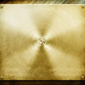Metal template background (golden pack) — Stockfoto