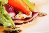 野菜サラダ マクロ — ストック写真