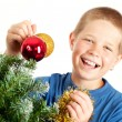 Christmas and young boy — Stock Photo #3538512