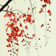 Branch of Red Blossom — Stock Photo #3016021