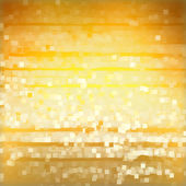 Light squares on yellow background — Stock Photo