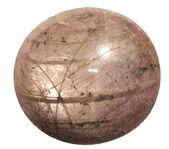 Star ruby semi-precious stone — Stock Photo
