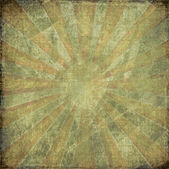 Dark vintage grunge rising sun background — Stock Photo