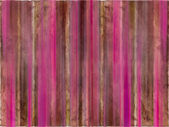 Brown and pink watercolor wash stripes — Stock Photo