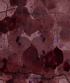 Wine colored vine print — Stock Photo