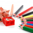 Sharpened pencils — Foto Stock