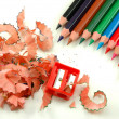 Foto Stock: Sharpened pencils