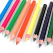 Stock Photo: Sharpened crayons