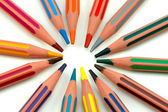 Pencil rainbow — Stock Photo