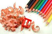 Crayons aiguisés — Photo