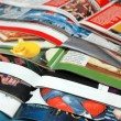 Stack of magazines — Stock Photo #3264197