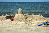 Château de sable — Photo