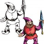 Постер, плакат: Christmas gnomes