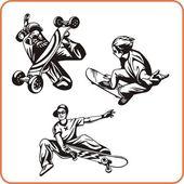 Extreme sport. — ストックベクタ