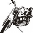 Harley. - Stock Vector