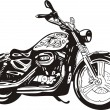 Harley. — Vector de stock #3478126