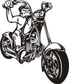 Harley. — Wektor stockowy