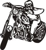 Harley. — Stockvektor