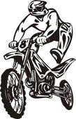 Motosrort. — Stok Vektör