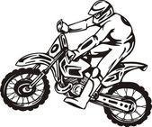 Motosrort. — Stock Vector