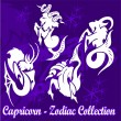 Stock Vector: Capricorn.