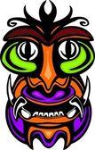 Ancient mask. — Stockvektor