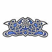 Celtic dekorativ design. — Stockvektor